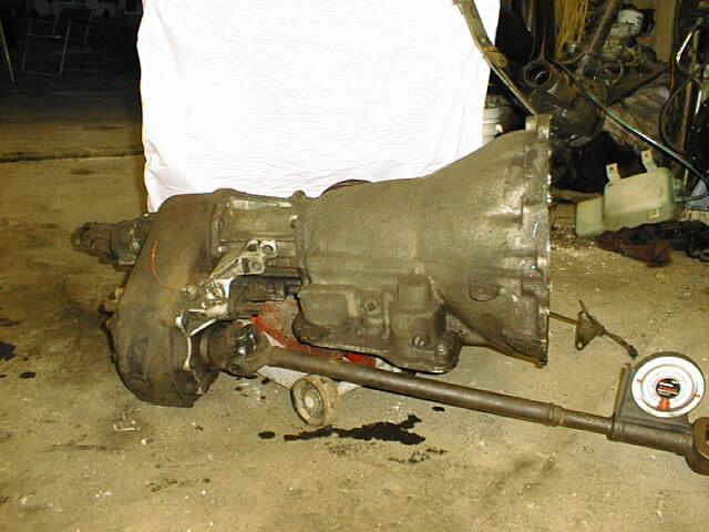swapping an amc 727 into a cj rh jeeptech com AMC Jeep Engine AMC Jeep CJ7